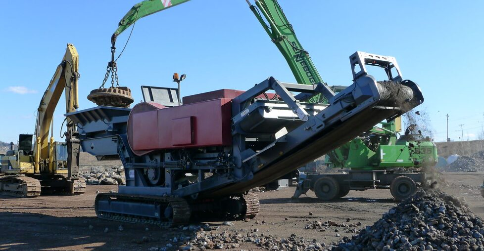 TheSTANDARD Jaw crusher ST series
